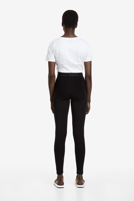 Leggings llargs cintura elàstica | Desigual