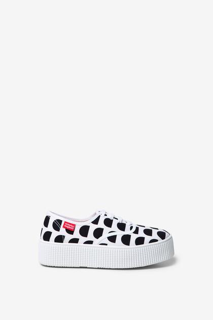 Victoria platform sneakers