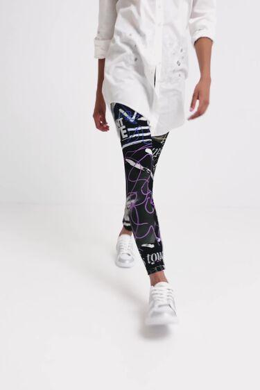 Slim Heritage leggings | Desigual