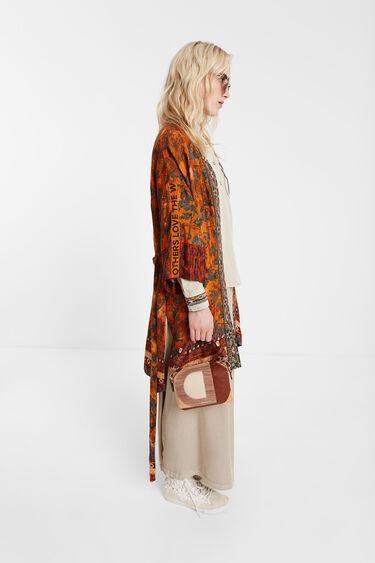 Kimono im afrikanisch inspirierten Safari-Style | Desigual