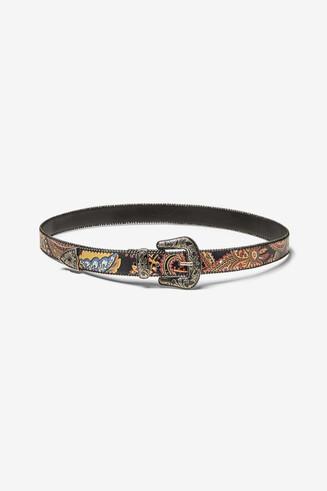 Boho paisley belt