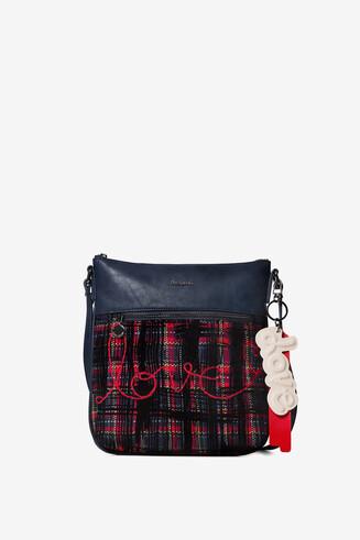 Tartan sling bag
