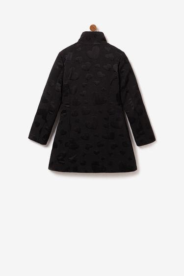 Cappotto gioiello con collo alla coreana | Desigual