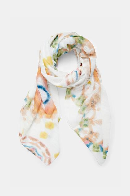 Rectangular foulard mandalas