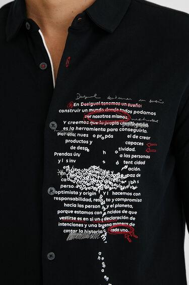 100%コットン メッセージシャツ | Desigual