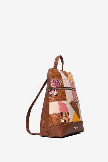 Mosaic backpack textures | Desigual