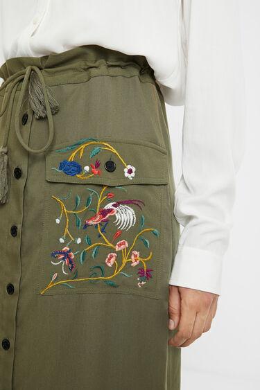 刺繍ペンシルスカート | Desigual