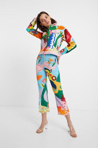 Jaqueta multicolor