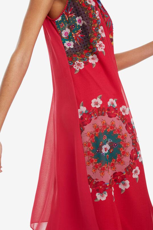 Red Midi-dress Sacha | Desigual