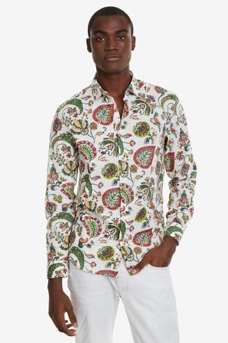 Slim Paisley Shirt Axel