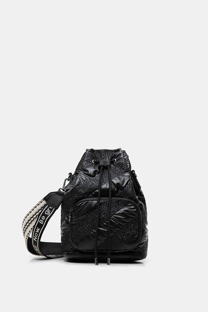 Bolso saco acolchado
