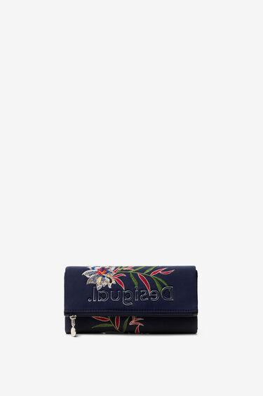 Portemonnee met Hawaïaanse bloem | Desigual