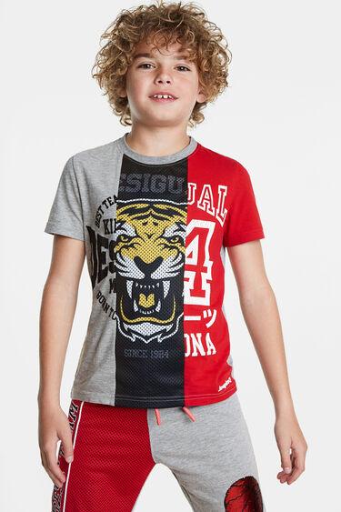 T-shirt tricolor basket | Desigual