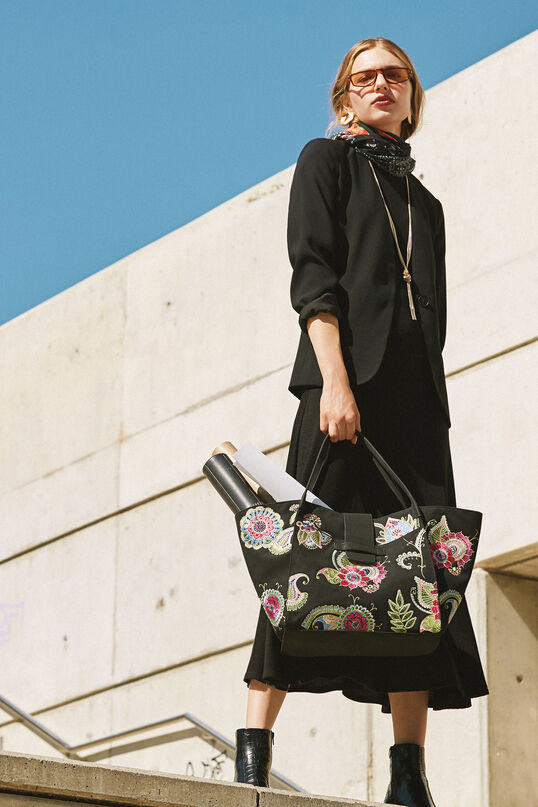 Inverted trapezoid bag | Desigual