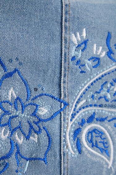 Short jean paisley skirt | Desigual