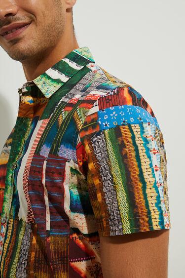 Camisa cenefas 100% algodón | Desigual