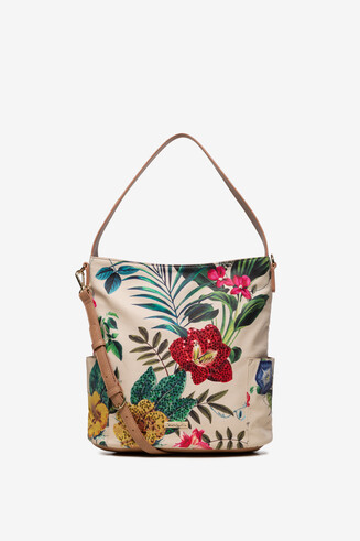 Floral White Bag Yakarta Mini