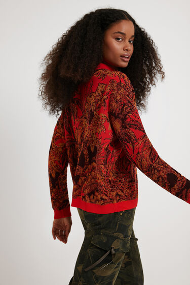 Oversize tricot jumper | Desigual