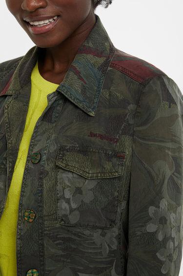 Saharan floral Tencel™ jacket | Desigual