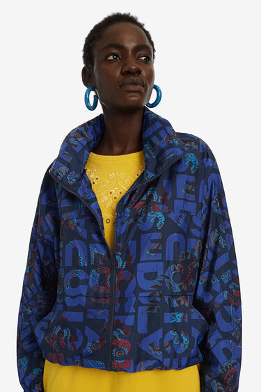 Lightweight logomania jacket | Desigual