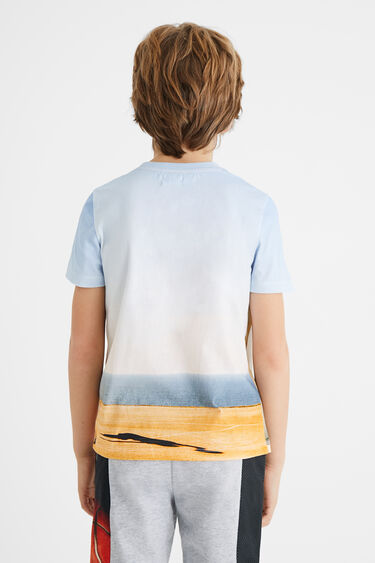 T-shirt basket ball 100% coton | Desigual