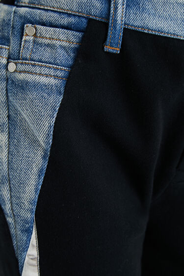 Bimaterial tracksuit bottoms | Desigual