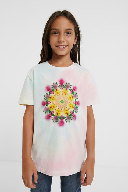 T-shirt met galactische mandala