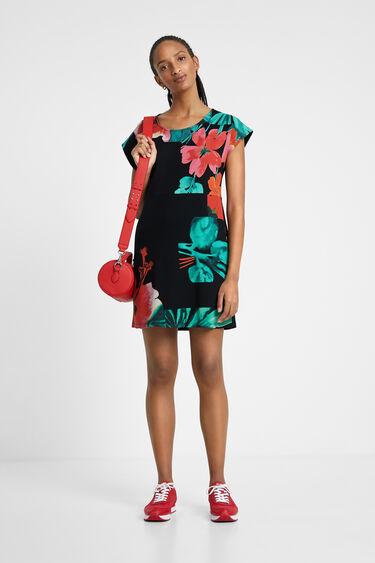 Vestido camisetero floral | Desigual