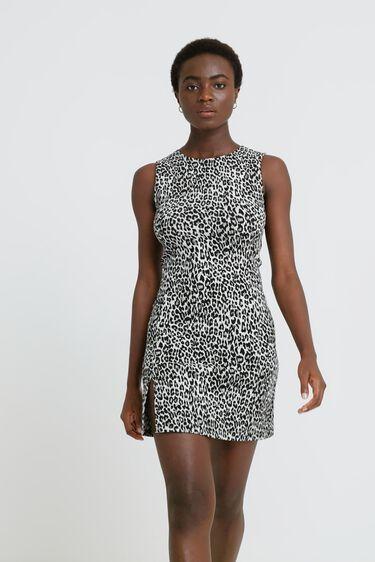 Vestido slim sin mangas | Desigual