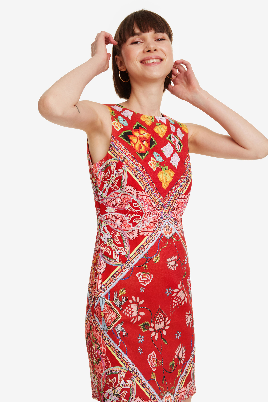 Vestito patch foulard | Desigual
