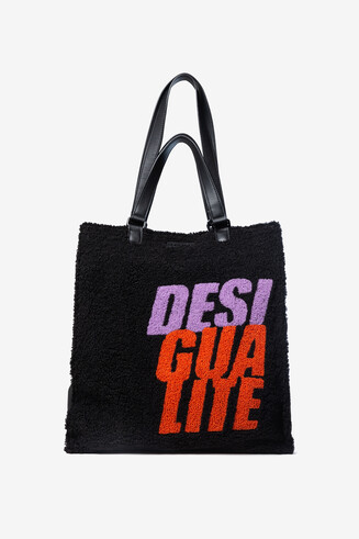Fleece shopping bag