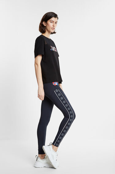 Organic LOVE T-shirt with transparency | Desigual