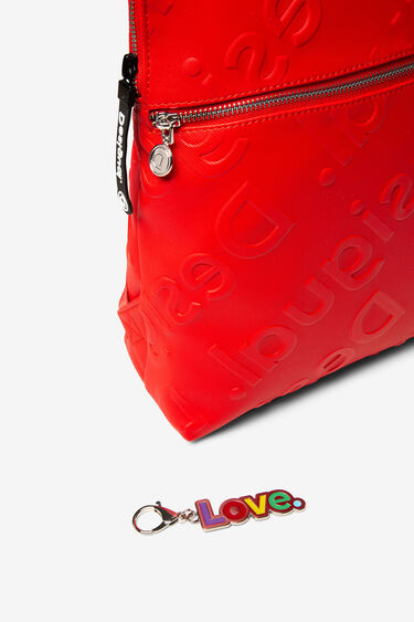 Backpack logo in relief | Desigual