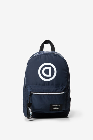 Ecoalf backpack with message