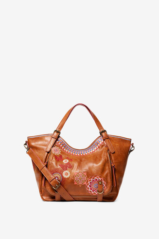 Camel Embroidered Bag Chandy Rotterdam