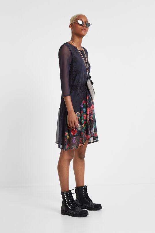 Floral multilayer dress   Desigual