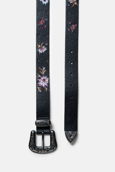 Embroidered boho belt | Desigual