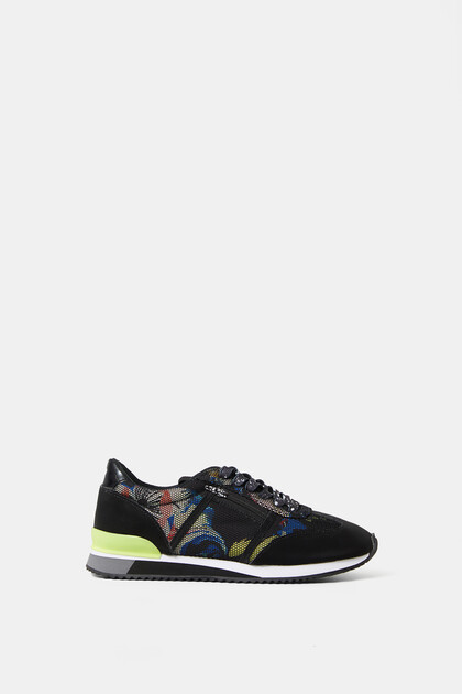 Sneakers Retro-Laufschuh Print
