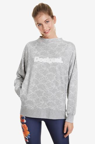 Sweatshirt Camo Flower