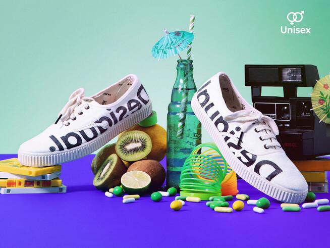 Zapatillas logo Desigual