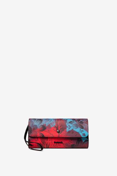 Reversible floral purse | Desigual