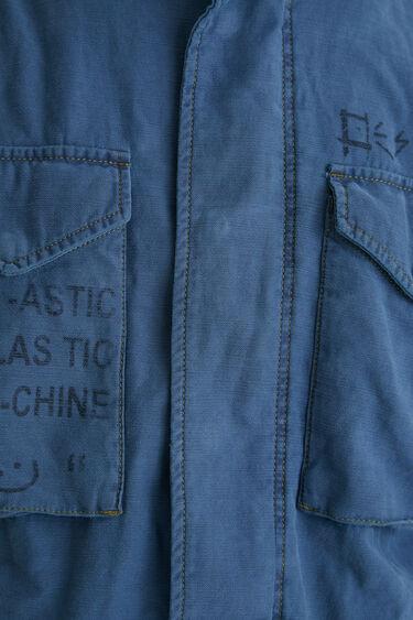 Jacke Baumwolle Taschen | Desigual