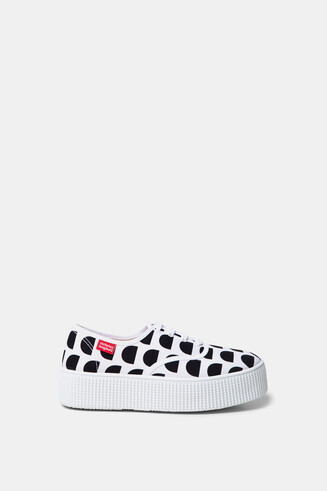 Sneakers Victoria mit Plateau