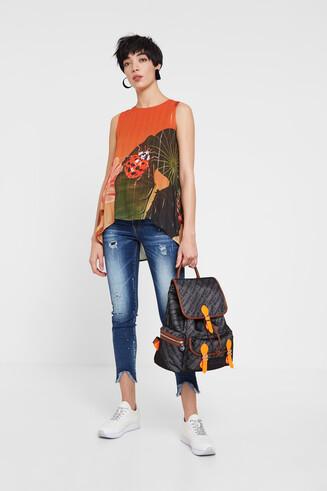 Floral blouse Designed by M. Christian Lacroix