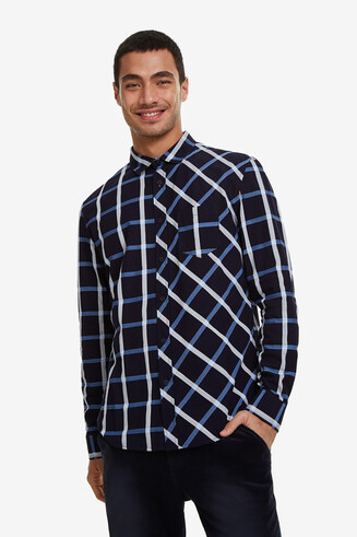 Checks and diamonds shirt