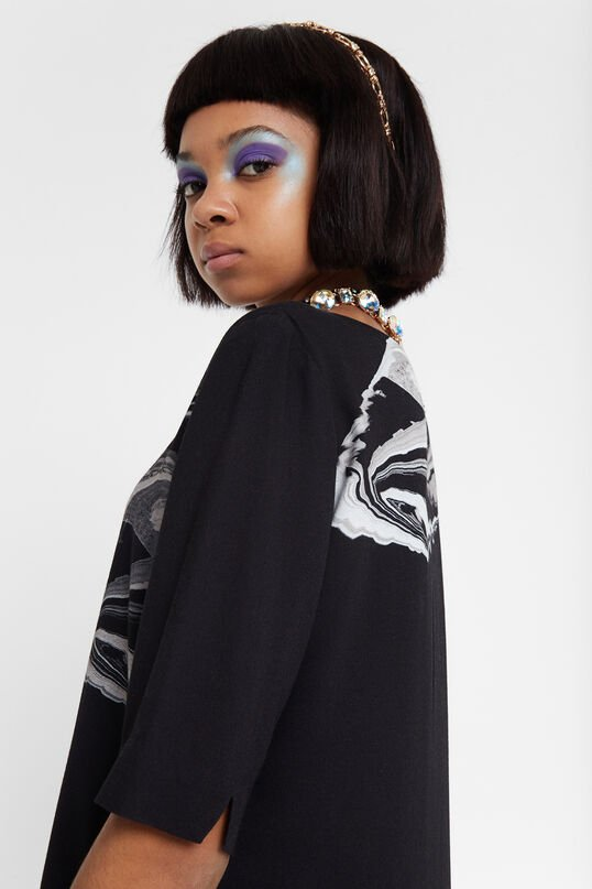Viscose T-shirt dress Designed by M. Christian Lacroix | Desigual
