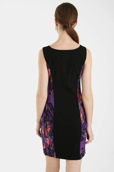 Kleid Slim geraffte Seiten | Desigual