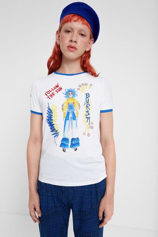 「Young」な才能を終結させたイラストTシャツ | Desigual