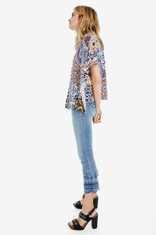 Multilayer Patchwork Blouse Agadir | Desigual
