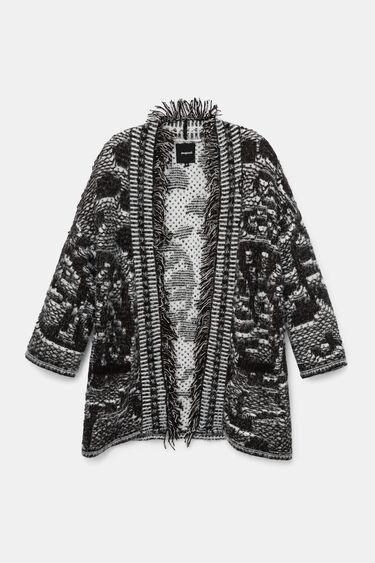 Oversize tricot jacket | Desigual
